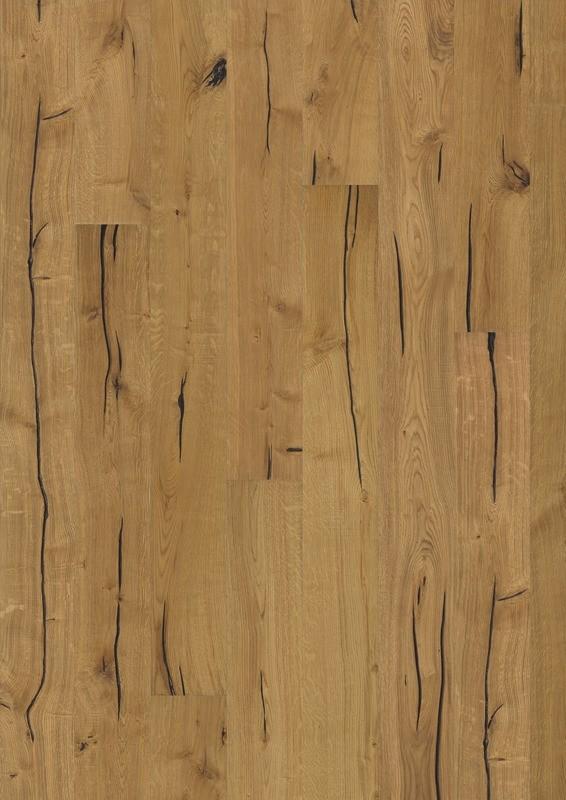 Dub Finnveden / prírodný olej / 1-lamelový dizajn / 4V drážka