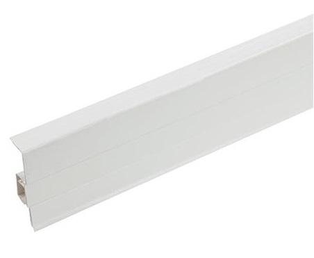soklová lišta plastová 6 cm hranatá