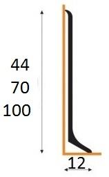 Soklová lišta 44-70-100mm