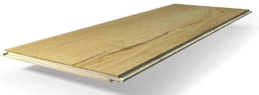 Zloženie drevenej podlahy Parador Eco Balance
