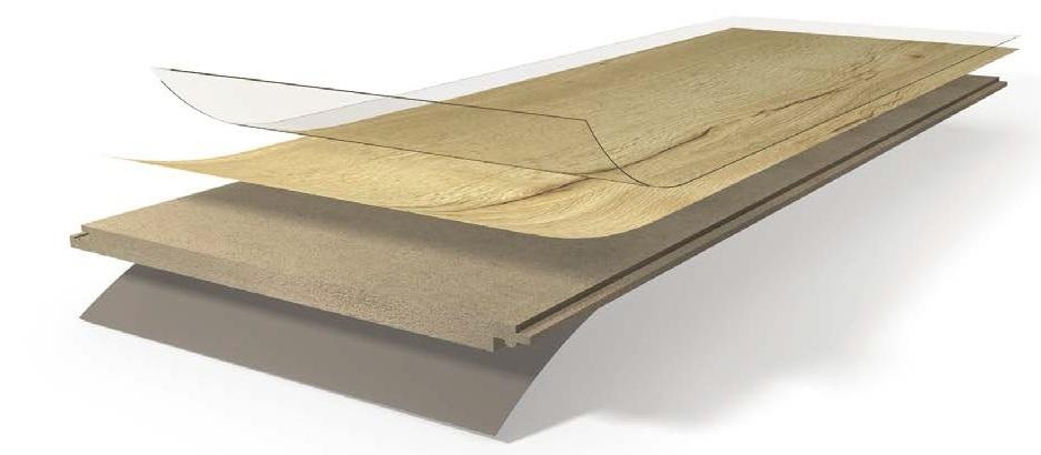 Zloženie podlahy Parador Eco Balance