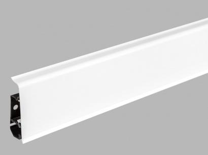 Soklová lišta plastová, rovná 7 cm