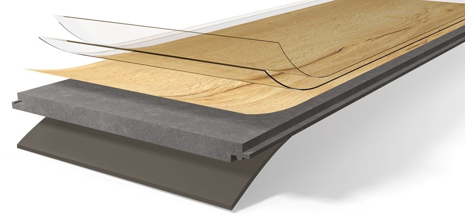 Zloženie podlahy Parador Vinyl Basic 5.3 PSC